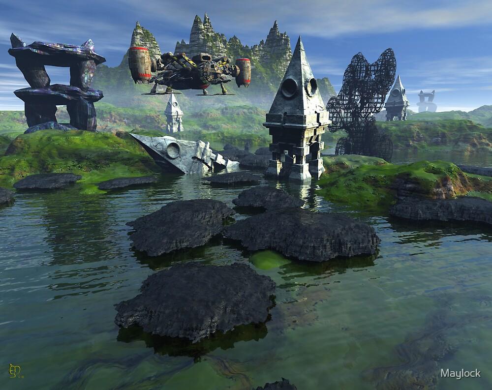 The Artogra Ruins by Maylock