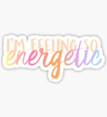 WANNA ONE Energetic Sticker