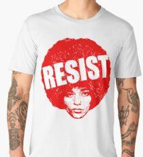 Angela Davis - Resist Men's Premium T-Shirt