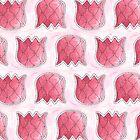 Topsy Turvy Tulips Pink Edition by ShelleyYlstArt