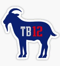 TB 12 The Goat Sticker
