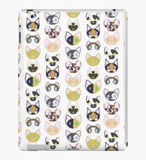 Adorable Kitty Pattern iPad Case/Skin