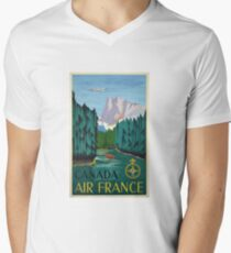 Vintage Travel Poster – Canada by Air France T-Shirt