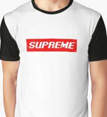 """Supreme Box Logo - """"Pixel Supreme"""" Graphic T-Shirt"""