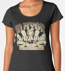 Mayor of Crazy Town Women's Premium T-Shirt