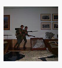 army guns(Canberra War Memorial Australia) Photographic Print