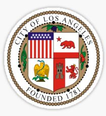 City of Los Angeles Seal Sticker