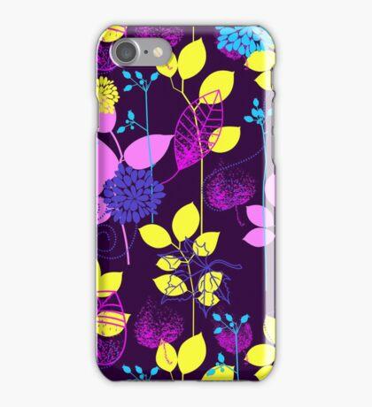 Foliage Lilac & Lemon [iPhone / iPod Case and Print] iPhone Case/Skin