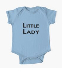 Little Lady One Piece - Short Sleeve