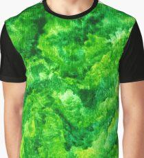 Green fields Graphic T-Shirt