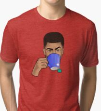 Just Sipping My Tea - 1 Tri-blend T-Shirt