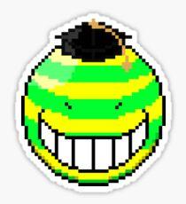 8-bit Korosensei (Cocky) Sticker