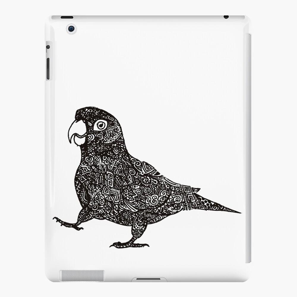 Komplex Papagei iPad-Hülle & Skin