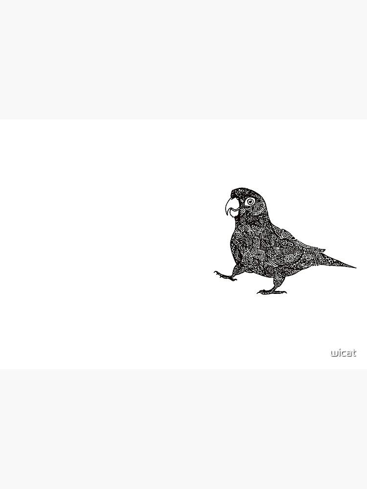 Komplex Papagei von wicat