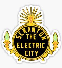 Scranton Lights Sticker