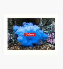 Culture Series: Blue Dust Art Print