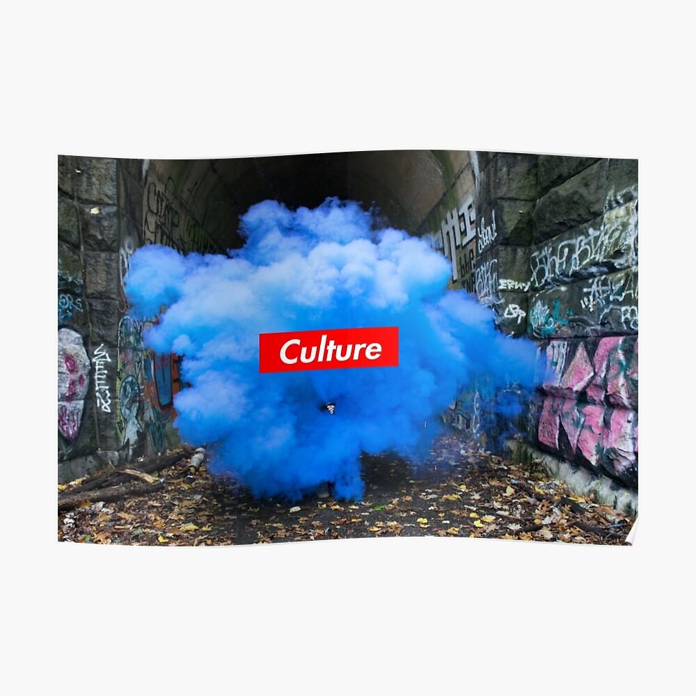 Kulturserie: Blauer Staub Poster