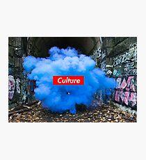 Culture Series: Blue Dust Photographic Print