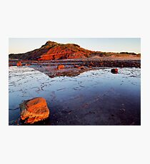 Rock Shelf at Long Reef 1 Photographic Print