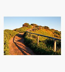Up the Hill Photographic Print