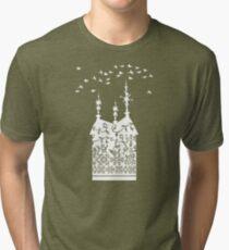 Weathervane white Tri-blend T-Shirt