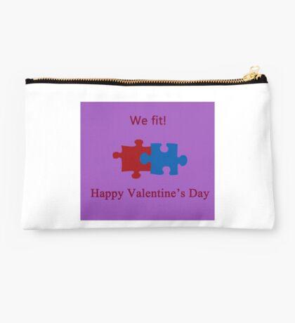 We Fit (Jigsaw Valentines) Studio Pouch