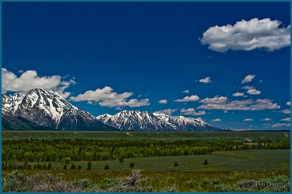 """""""God's Purple Mountain Majesty, He Shed His Grace On Thee"""" by Tim Denny"""
