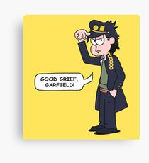 Yare Yare Daze, Garfield... Canvas Print