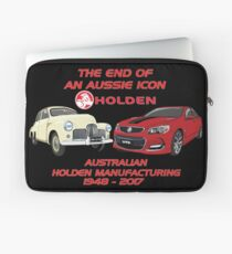 The End Of An Aussie Icon Laptop Sleeve