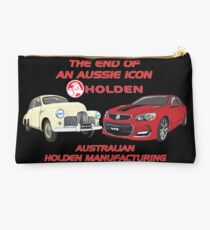 The End Of An Aussie Icon Studio Pouch