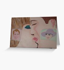 """"""" Oh Babe First Marriage Kiss  - Now April 29, 2011"""" Prince William and Kate Middleton Greeting Card"""