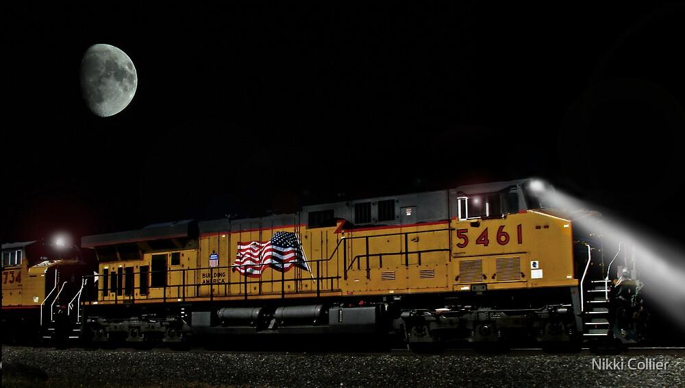 The midnight train.... by Nikki Collier