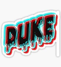 Psychedelic Dark Duke  Sticker