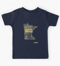 Minnesota State - There's No Place Like Home (Yellow Version) Kids Clothes