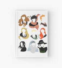 Minimalist Characters  Hardcover Journal
