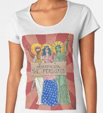 Nevertheless, She Persisted Women's Premium T-Shirt