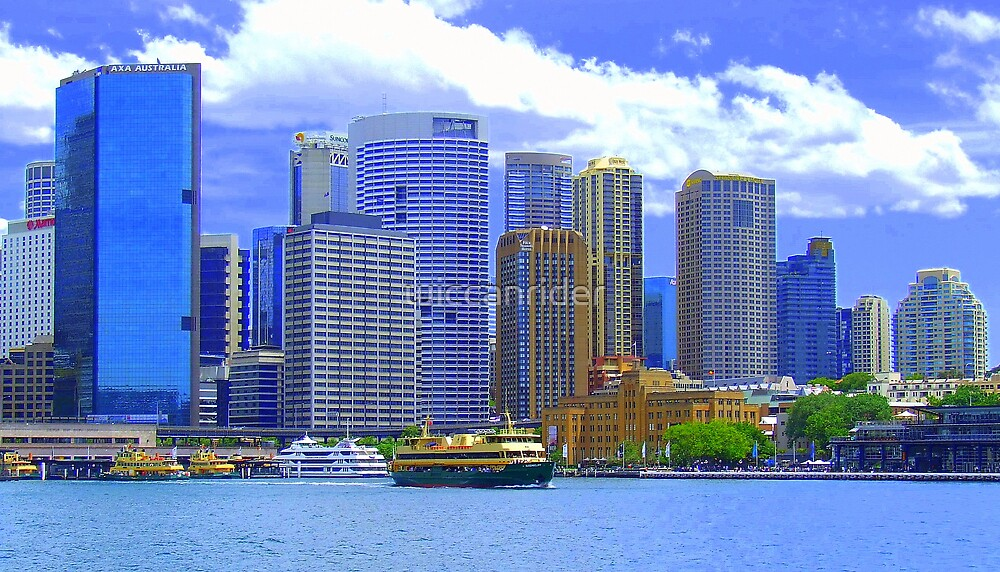 A Brighter Looking Circular Quay by wiccanrider
