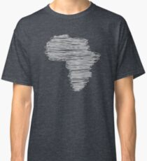 Africa in wire Classic T-Shirt