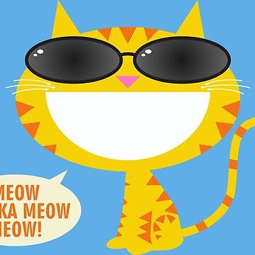 Meow Chicka Meow Meow by DavidAyala