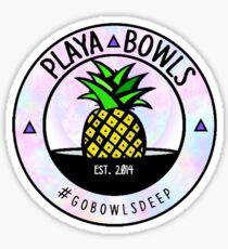 Pegatina Pastel Playa Bowls