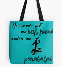 Parabatai Print (The Mortal Instruments Cassandra Clare) Tote Bag