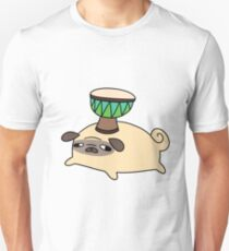 Pug and Little Djembe T-Shirt