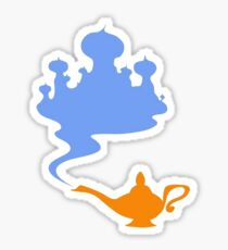 Simplistic Palace and Lamp Sticker
