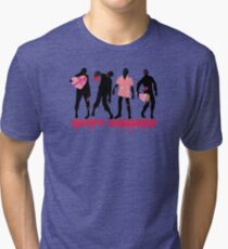 Funny zombies love gifts Valentines Day Tri-blend T-Shirt