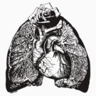 Lung Language - black by Madison Cowles Serna