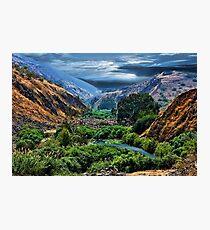 ๑۩۞۩๑ JORDAN RIVER -THE GARDEN OF GOD ๑۩۞۩๑ Photographic Print