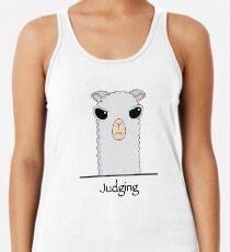 Judging Alpaca Women's Tank Top
