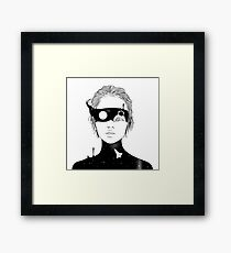 If I Could Just See You from Up Here Framed Print