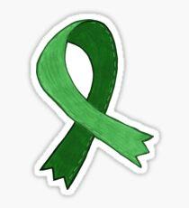 Light Green Awareness Ribbon Sticker