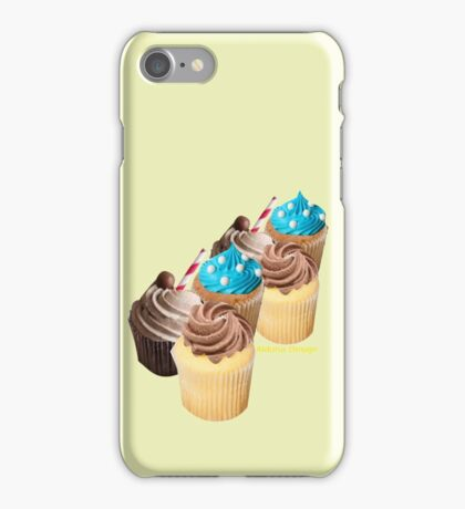 Christmas Cup Cakes (2973 Views) iPhone Case/Skin
